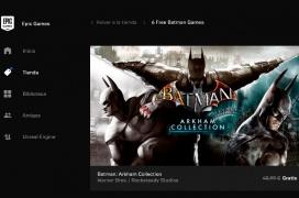 Epic Games regala seis juegos de Batman en su plataforma de juegos hasta el 26 de septiembre