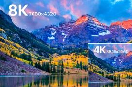Ya disponible la especificación del estándar 8K UltraHD: 7.680 x 4.320 píxeles de resolución, 60 FPS, HDR y 10-bits
