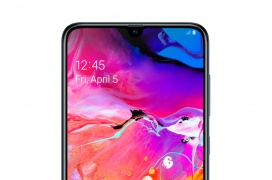 El Samsung Galaxy A70s llega con un sensor de 64 MP y gradiente en prisma de color