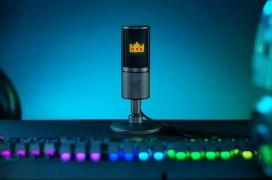 El micrófono Razer Seiren Emote debuta con una pantalla LED con emoticonos para streaming