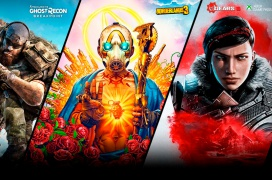 Borderlands 3 o Toms Clancy's Ghost Recon Breakpoint gratis más Xbox Game Pass para PC por comprar algún producto de AMD