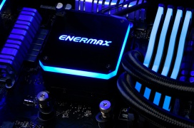 Enermax anuncia las RL AIO Liqmax III ARGB con radiadores de 120, 240 y 360 mm y nuevo bloque CPU de doble compartimento