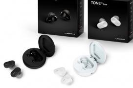 La carcasa de los auriculares inalámbricos LG Tone+ Free incluye emisores UV para desinfectarlos automáticamente
