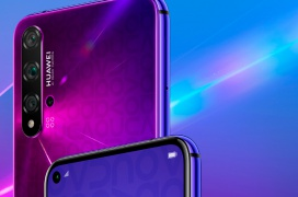 Ya está a la venta el Huawei Nova 5T con cuádruple cámara trasera, Kirin 980 y sensor de huellas lateral por 429 Euros
