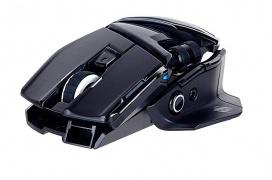 El ratón Mad Catz R.A.T.AIR es inalámbrico y no requiere de batería alguna para funcionar