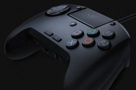 Razer Raion: gamepad pro para PS4 y PC con interruptores mecánicos y cruceta táctil para juegos arcade