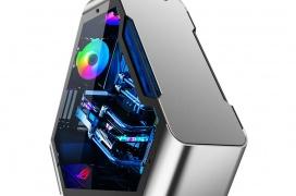 La Jonsbo TR03 es una caja poco convencional con diseño triangular y cristal templado para adornar con mucha iluminación RGB
