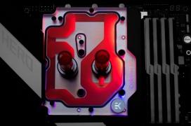 EK anuncia su monobloque con ARGB para la ASUS Crosshair VIII Hero