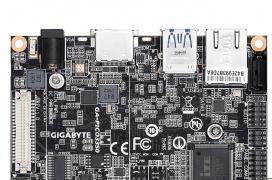 La placa base GA-PICO3350 de Gigabyte incluye un Intel Celeron N3350 dual core y cabe en la palma de la mano
