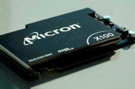 El SSD Micron X100 con memorias 3D XPoint es el más rápido del mundo: 10 GB/s y 2.5 M IOPS