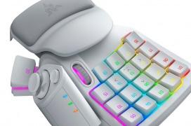 El Keypad Razer Tartarus Pro llega con interruptores ópticos analógicos