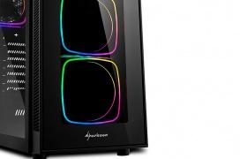 La torre Sharkoon TG6 RGB llega con 4 ventiladores de serie, doble cristal templado y filtros antipolvo