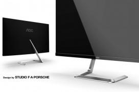 Llegan al mercado los monitores de diseño U32U1 y Q27T1 con hasta 4K y HDR600 de la alianza AOC y Porsche