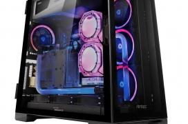 La semitorre Antec P120 Crystal llega con doble panel de cristal templado y gran espacio interior a un precio de 100 dólares