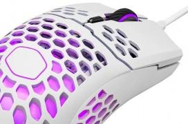 Cooler Master introduce el ratón gaming ultraligero MM711 con un peso de 60 gramos, interruptores OMRON y RGB