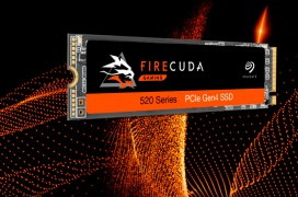 Hasta 5000 MB/s y 760k IOPS en los primeros SSD PCIe 4.0 de Seagate, los FireCuda 520