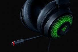 Los auriculares gaming Razer Kraken Ultimate incorporan micrófono con cancelación de ruido y sonido virtual 7.1