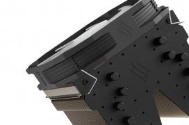 Ventilador RGB de 14 cm en el renovado disipador SilentiumPC Fortis 3 RGB HE1425 con un TDP de 220 W