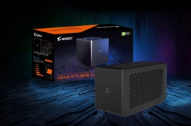 La Gigabyte Aorus RTX 2080 Ti Gaming Box integra un sistema de refrigeración líquida a un precio de 1500 dólares