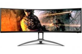 """AOC AGON AG493UCX: un monitor gaming gigantesco de 49"""" con pantalla curva y ultra panorámica, 120 Hz y VRR"""