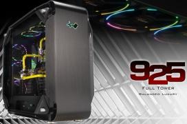 La caja Full Tower Premium InWin 925 llega con doble cristal templado, chasis de aluminio anodizado y un toque de iluminación RGB
