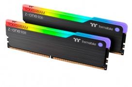 Thermaltake lanza el kit de memorias de 16GB ToughRAM Z-ONE RGB DDR4-3200 CAS16 por 90 dólares