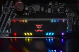 El Patriot VPR100 llega con iluminación RGB personalizable y velocidades de hasta 3300MB/s
