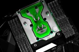 EK lanza el monobloque de refrigeración líquida Momentum D-RGB para la ASUS ROG Strix X299-E Gaming II