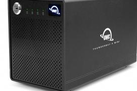 OWC lanza el DAS Thunderbay 4 Mini con 4 bahías y numerosos modos RAID