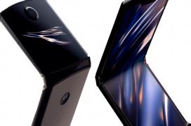 El Morotola Razr con pantalla plegable llegará a España el 10 de febrero por 1.599 euros
