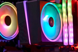 El disipador AeroCool llega para disipar procesadores de hasta 145 W de TDP con dos zonas de iluminación RGB