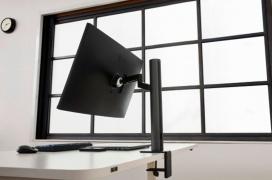 El monitor LG UltraFine Ergo 32UN880 incorpora una peana con multitud de movimientos para ajustarse perfectamente