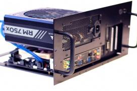 CoolBitts quiere que tengas tu PC inmerso en líquido no conductivo en su caja ICEbox capaz de disipar hasta 750 W