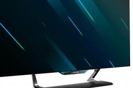 55 pulgadas de panel OLED 4K a 120 HZ y con 0,5 ms de respuesta es la carta de presentación del Acer Predator CG552K