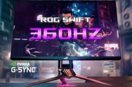 ASUS ROG Swift 360, el primer monitor del mundo con G-Sync eSports y 360 Hz