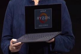El AMD Ryzen 7 4800U con 8 núcleos Zen 2 es el el procesador más potente para portátiles ultrafinos
