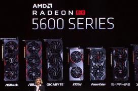 Las AMD Radeon RX 5600 XT y RX 5600 ya son oficiales con 2340 y 2048 SPs junto a nuevos modelos para portátiles