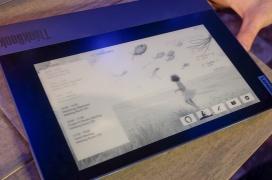 El Lenovo ThinkBook Plus integra una pantalla de tinta electrónica táctil en su carcasa exterior