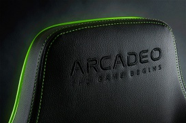 La silla Gaming de Arcadeo llega con 10 zonas de respuesta táctil personalizables