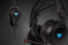 Iluminación RGB y sonido surround 7.1 virtual en los nuevos auriculares Thermaltake RIING Pro