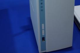QNAP TS-230, decodificación por hardware H.264, Quad Core 1.4GHz y 2 GB de RAM.