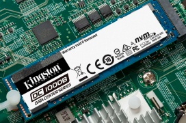 Kingston anuncia sus SSD NVMe DC1000B con protección anti pérdida de energía PLP  para centros de datos