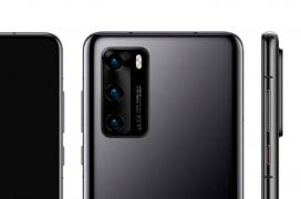 El diseño del Huawei P40 se filtra dejando ver tres cámaras traseras y dos frontales