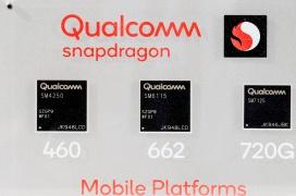 Qualcomm renueva su propuesta de SoCs de gama media 4G con los nuevos Snapdragon 720G, Snapdragon 662 y Snapdragon 460