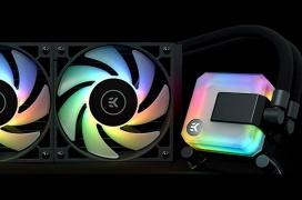 EK-AIO, un kit premontado de refrigeración líquida con ARGB y radiadores de hasta 360 mm