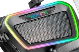 Patriot anuncia sus Viper V380, unos auriculares con sonido 7.1 virtual y RGB