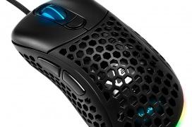 Sharkoon Light² 200, un ratón con iluminación RGB y diseño ultraligero de tan solo 62 gramos