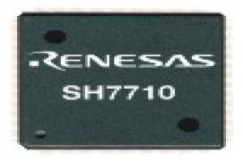 Nuevo microprocesador Risc SH7710 de 32 bits de Renesas