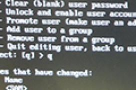 Cómo cambiar la contraseña perdida en Windows 8 o Windows 8.1 con SystemRescueCD.