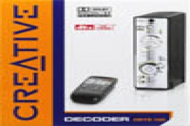 Nuevo decodificador ddts 100 de creative y sistema de altavoces td7700